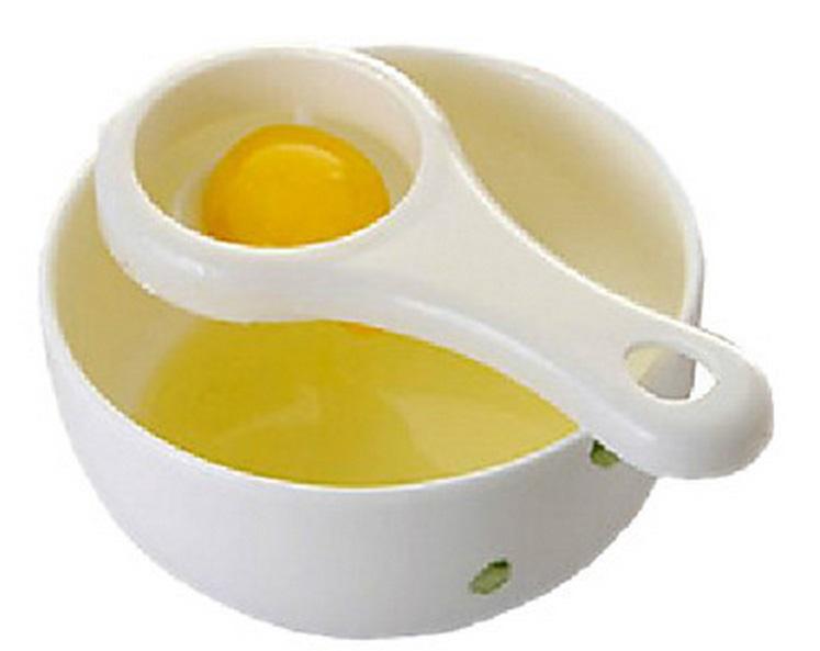 Eggehvite deler