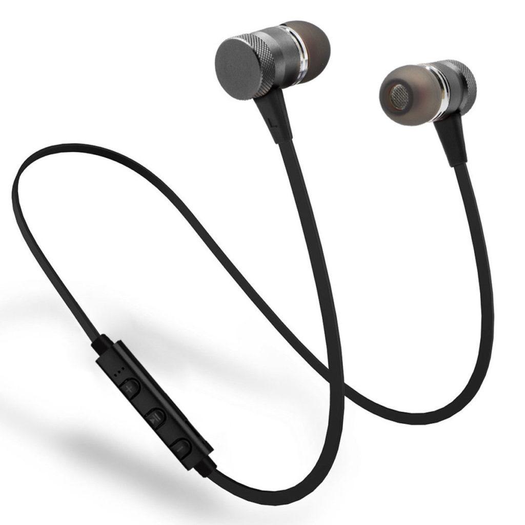 Trådløse øretelefoner med bluetooth til trening