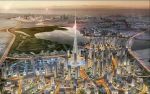 Nytt tårn på vei opp i Dubai
