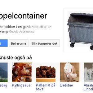 Hvordan bruke googles aromasøk.