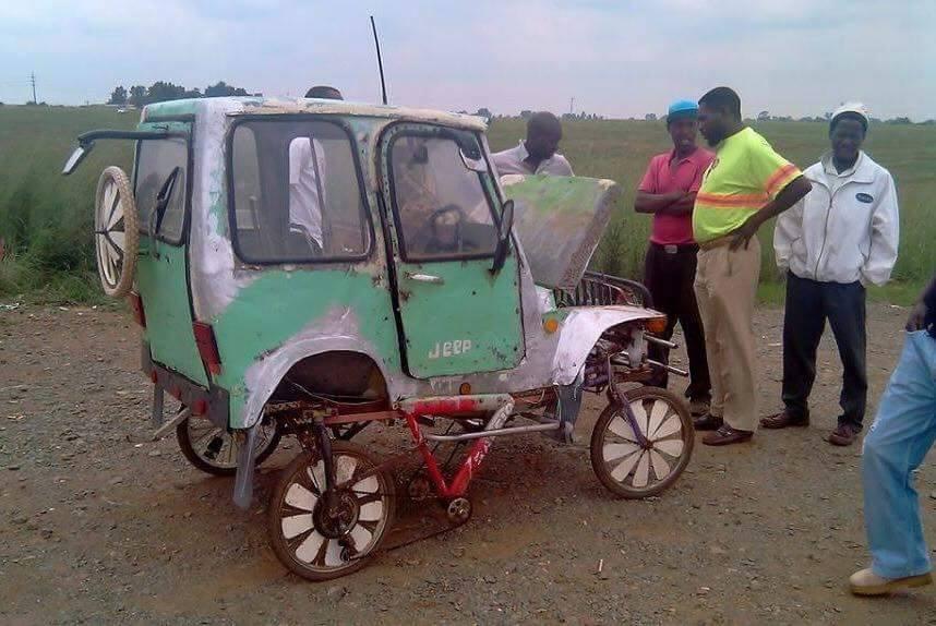 En 4-hjuls trekker trenger ikke å koste all verdens hvis du bygger den selv