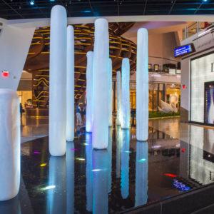 Hvor ser man kunst i Las Vegas?