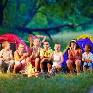 Hvordan lage en teltby til barna