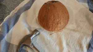 pakk inn kokosnøtt